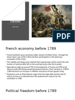 Presentation on the effects of the French revolution on the working classes