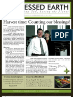 August 2009 Blessed Earth Newsletter