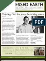 October 2009 Blessed Earth Newsletter