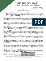 Stravinsky - Histoire du soldat (tromba)
