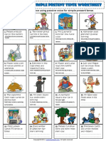 passive voice simple present tense esl exercises worksheet