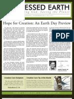 February 2010 Blessed Earth Newsletter