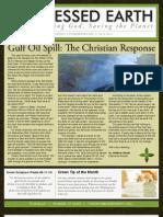 June 2010 Blessed Earth Newsletter