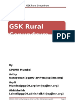 GSK Rural Conundrum