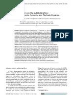 A escrita autobiográfica letra e memória feminina em Florbela Espanca.pdf