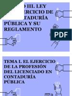 Unidad III. La Ley del Ejercicio de La Contaduría Pública.pdf