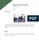3.c. Guía didáctica T1 Radiaciones Ionizantes