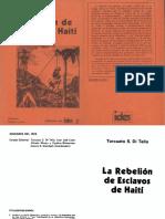 Torcuato Di Tella - La rebelión de esclavos en Haití.pdf