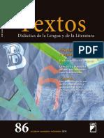 Textos de didáctica de la lengua y la literatura - 86