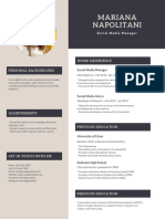 Cream and Gray Modern Resume