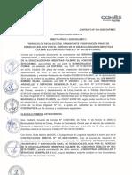 CONTRATACIÓN DIRECTA - N° 024-2020-GAF_MDC 20 FEB 2020 INDUSTRIAS ARGUELLES - COMAS - RESIDUOS SÓLIDOS