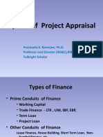 Different Aspects of Project Appraisal