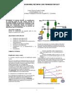 Laboratorio de amplificación de dos etapas  con BJT en emisor común