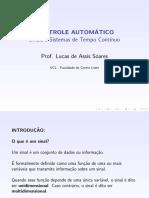 01 - Sinais e Sistemas de Tempo Contínuo.pdf