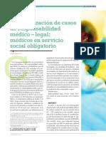 ARTICULO 2. CASOS DE RESPONSABILIDAD EN MEDICOS RURALES (2)