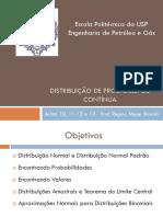 Probabilidade - Aula 10 e 11 e 12 e 13  - Distribuição Contínua.pdf