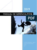 Libro Manual de Gerencia Pyme 0190726