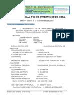 INFORME DE SUPERVISION DE OBRA