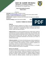 Guía 8 quimica