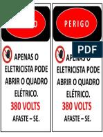 Painel eletrico 380 volts