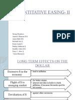Quantitative Easing- II