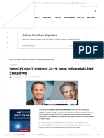 Best CEOs In The World 2019_ Most Influential Chief Executives _ CEOWORLD magazine