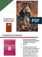 60. La devoción a la Santísima Virgen.ppt