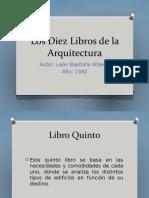 Los Diez Libros de la Arquitectura