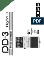 boss-digital-delay-dd-3-mode-d-emploi-fr-44045
