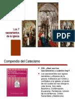 catequesis sacramentos