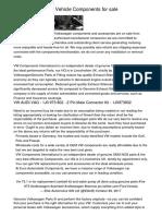 VW Genuine OEM Automobile Components for saleqgowe.pdf