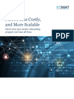 Faster Less Costly More Scalable