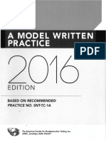 A Model Written Practice 2016 Edition