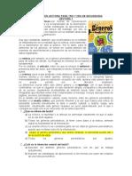 COMPRENSIÓN LECTORA PARA 1RO Y 2DO DE SECUNDARIA