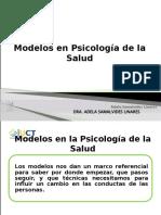 MODELOS EN PSICOLOGIA DE LA SALUD
