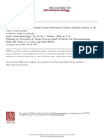 852354 Hearts and Minds Three Attitudes toward Performance Practice and Music Theory in the Yemen Arab Republic