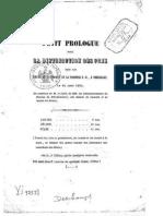 Petit prologue pour la distribution des prix - Emile Deschamps.epub