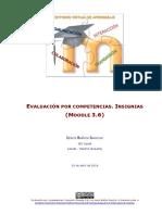 Evaluación por competencias. Insignias - Moodle 3.6