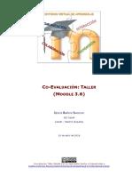 Co-evaluación - Taller - Moodle 3.6