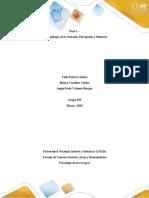 Paso 2 - Psicofisiología de la Atención, Percepción y Memoria