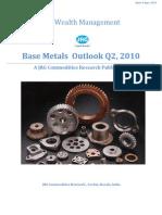 Base Metals Q2 2010- Outlook