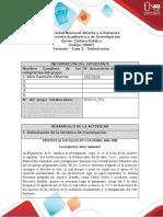 Formato - Fase 2 - Delimitación