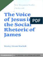 Voice of Jesus in the social rhetoric of James.pdf