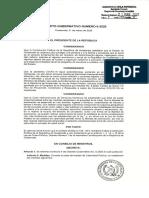 Acuerdo 6-2020