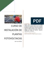 Libro Guía - Instaclación de Plantas Fotovoltaicas 1raEdición
