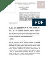 Cas.N.º 1532-2017-Huánuco Cambio de Nombre