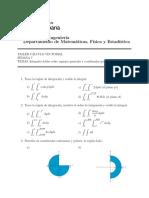 Taller cálculo vectorial Semana 7