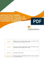 INSTRUCTIVO CAMBIO RODAMIENTOS POLEAS CORONA RIGS WORKOVER.pdf