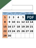 calendario meses