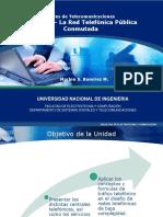Redes Telecom U2 - La  Red Telefonica Pública Conmutada (1)